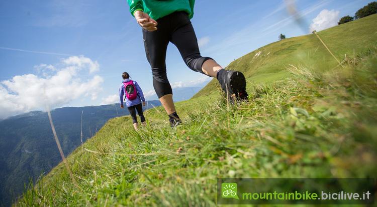 nordic walk nell'Altopiano di Folgaria, Luserna e Lavarone
