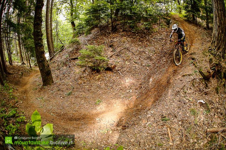 foto dei una parte del trail Pino Solitario a Montecreto.