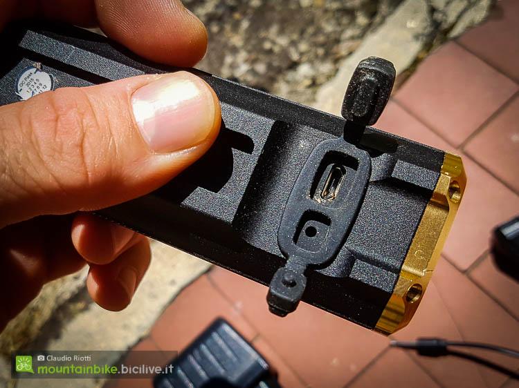 foto del faretto BBB Sniper da sotto