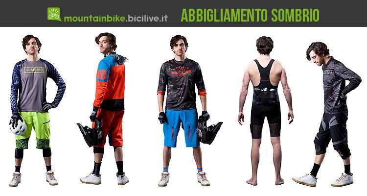 abbigliamento ciclismo mtb sombrio