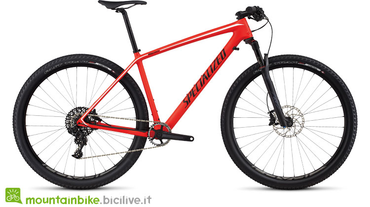 Specialized Epic HT Expert Carbon 29 World Cup arancio