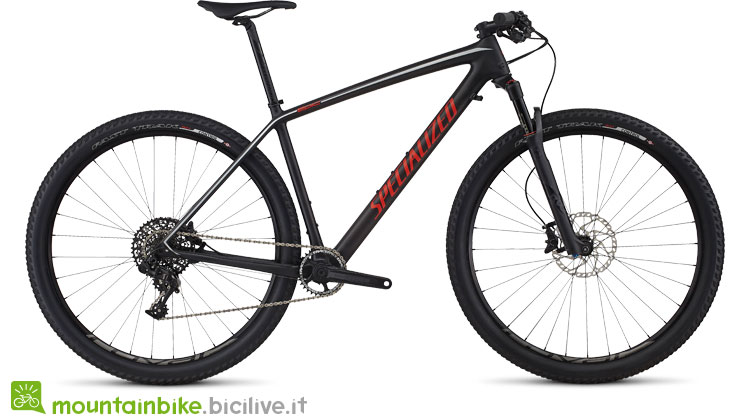 Specialized Epic HT Expert Carbon 29 World Cup nero