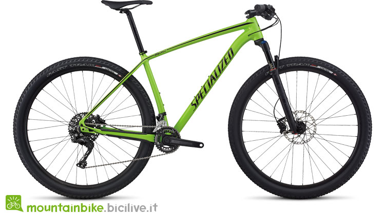 Specialized Epic HT M5 29 giallo