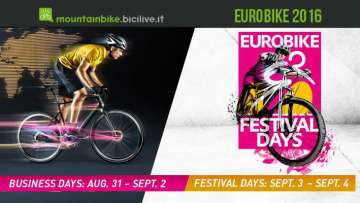 La locandina della fiera della bicicletta Eurobike 2016