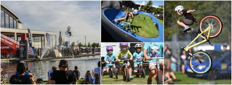 Spettacoli e bambini alla fiera della bicicletta Eurobike