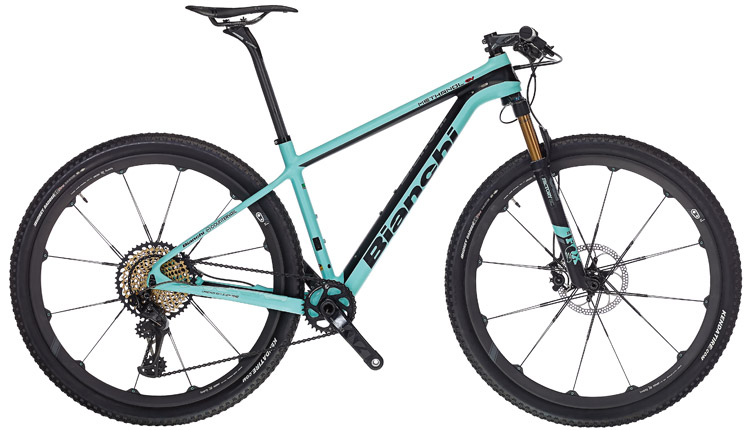 la mountain bike Bianchi Methanol CV 9.1