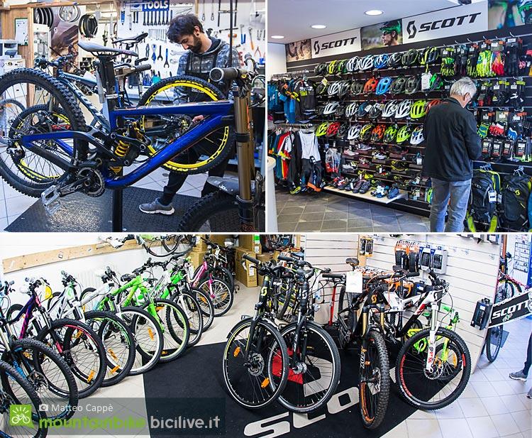 il negozio 360 sport di Livigno