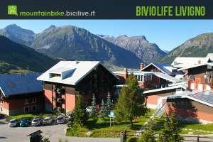 foto del complesso dell'Hotel Alpen Village della catena Bivio Life
