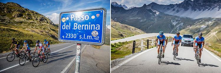 foto del tour bici da corsa all'alpen village hotel