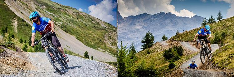 foto del tour mtb all'alpen village hotel di livigno