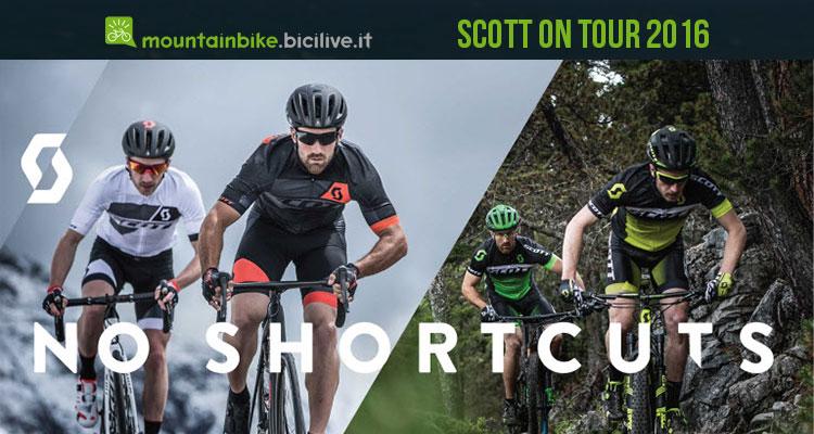 Scott on Tour 2016 è l'occasione per provare tante bici novità 2017 Scott
