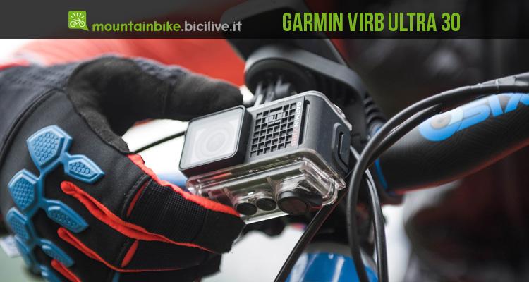 action cam 4k con comandi vocali Garmin VIRB ultra 30