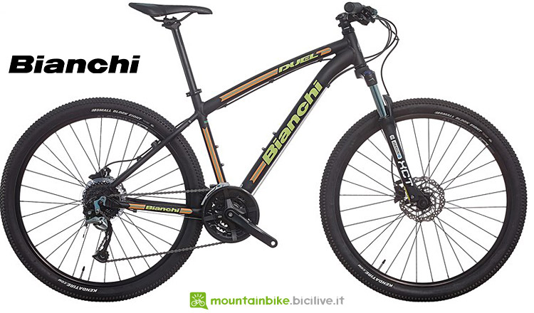 mtb entry level Bianchi Duel dal listino 2017