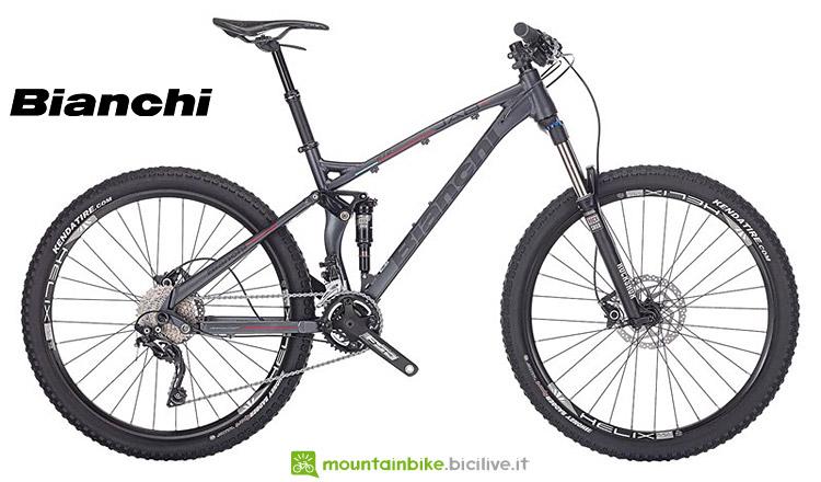 mtb trail full suspended Bianchi Jab FS