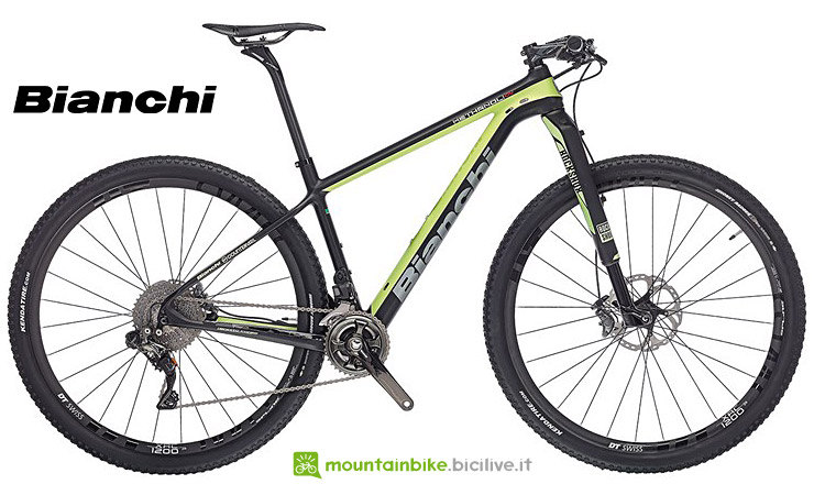 mtb top di gamma Bianchi Methanol CV