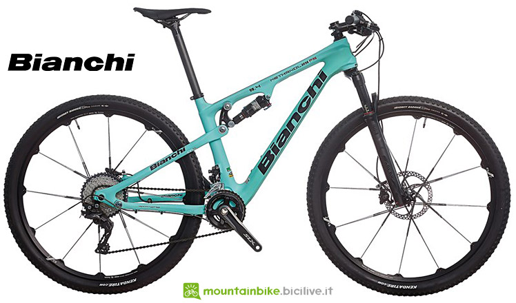 mtb full Bianchi Methanol FS dal catalogo 2017