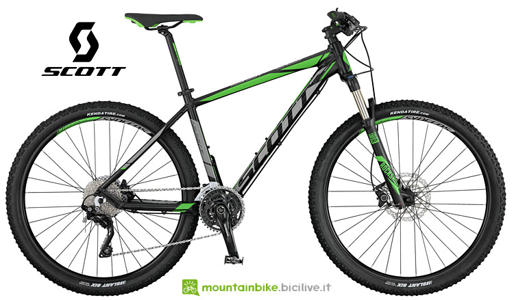 Scott Aspect 910 dal catalogo mtb 2017