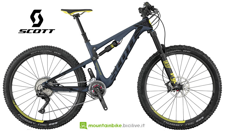 Scott Contessa Genius 700 mtb full da donna