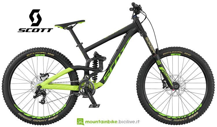 bici da downhill Scott Gambler 730