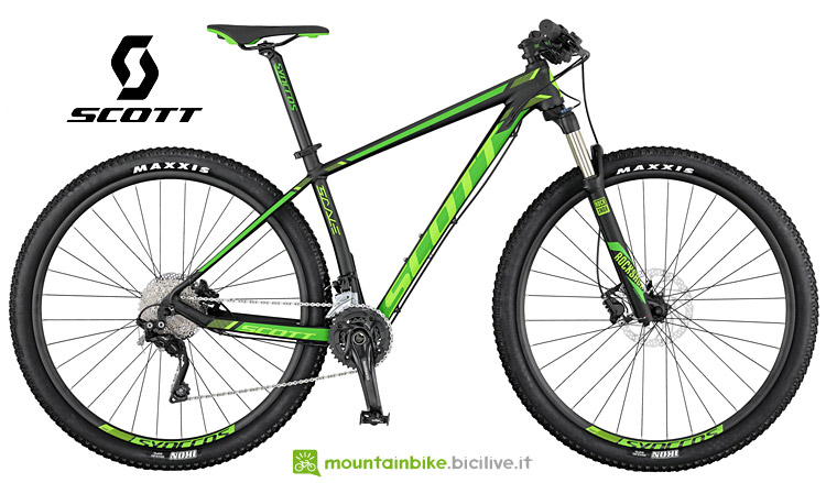 Scott Scale 960 mountain bike solo con forcella