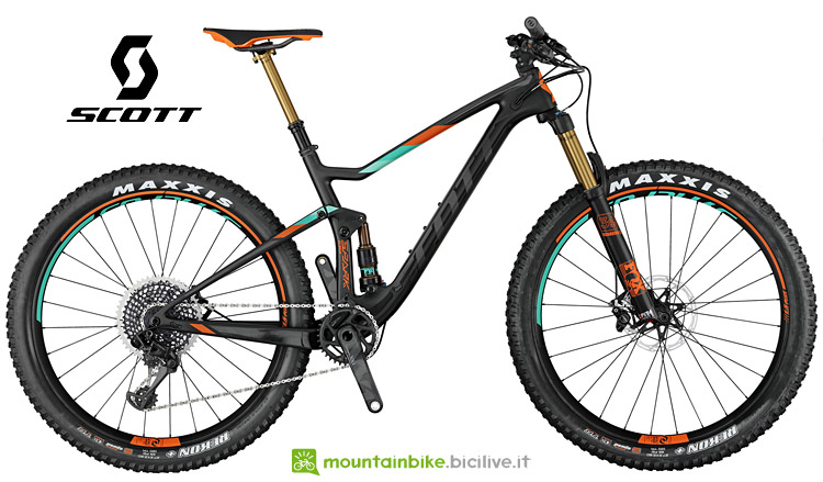 mtb da trail Scott Spark 700 Plus Tuned