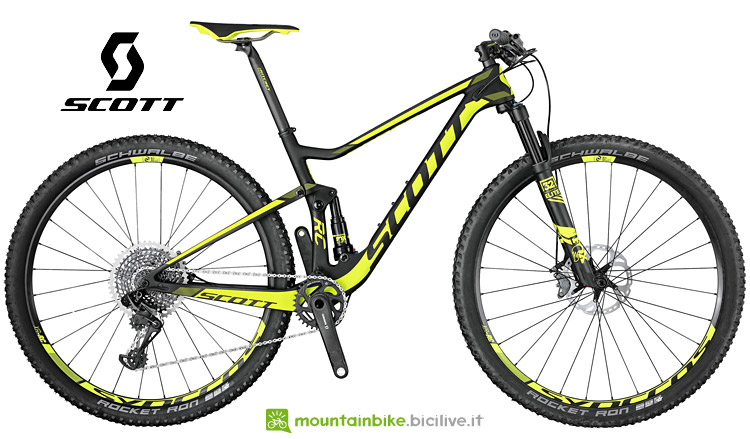 Scott Spark RC 900 World Cup mtb full da cross country