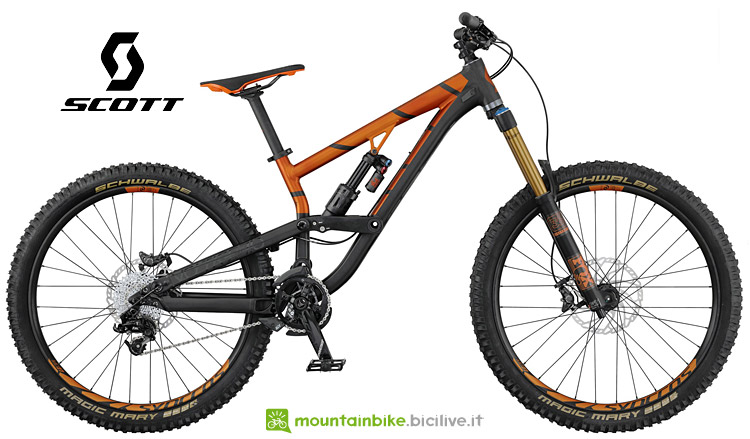 mtb enduro Scott Voltage FR 710