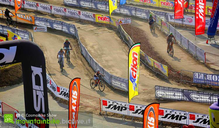 Area test mtb a Cosmo Bike Show, una delle più grandi manifestazioni di bici, mtb, bici elettriche, ebike, emtb, gravel, fat bike