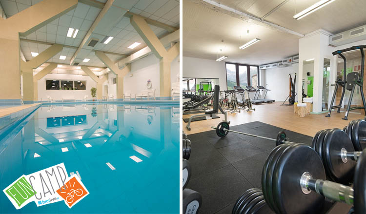 Wellness a Livigno all'Alpen Village, piscina, palestra e sauna