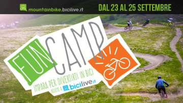 Corsi e workshop di mtb e emtb, sulle tecniche di guida mtb al fun camp di BiciLive