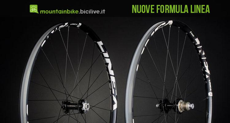 Ruote Formula Linea 2,3,4, per mountain bike xc, all mountain, cross country, enduro e dh