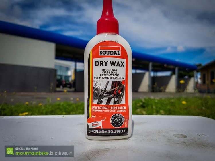 foto del Il lubrificante a base di cera Dry Wax