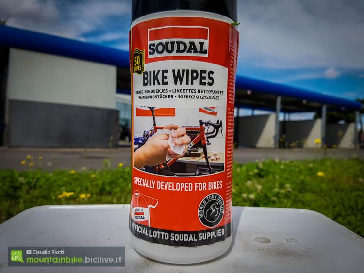 foto delle Le salviettine Bike Wipes di Soudal
