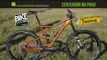 mtb full centurion no pogo 3000 27 provata al Bike Shop Test di Bologna