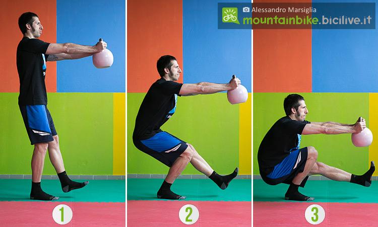 esercizi-glutei-acciaio-sequenza-pistol-squat