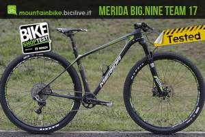 Merida Big Nine Team 2017 provata al Bike Shop Test di Bologna