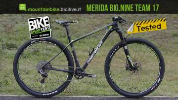 Merida Big Nine Team 2017 provata al Bike Shop Test di Bologna