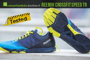 test scarpe reebok crossfit speed tr