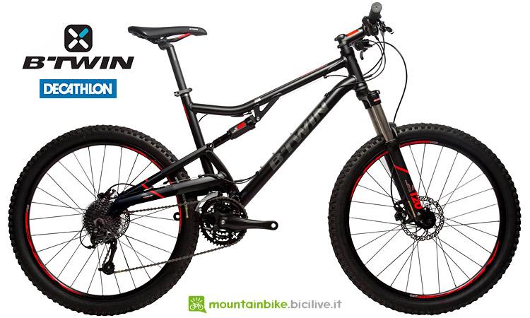 Mtb full Btwin Rockrider 520 S