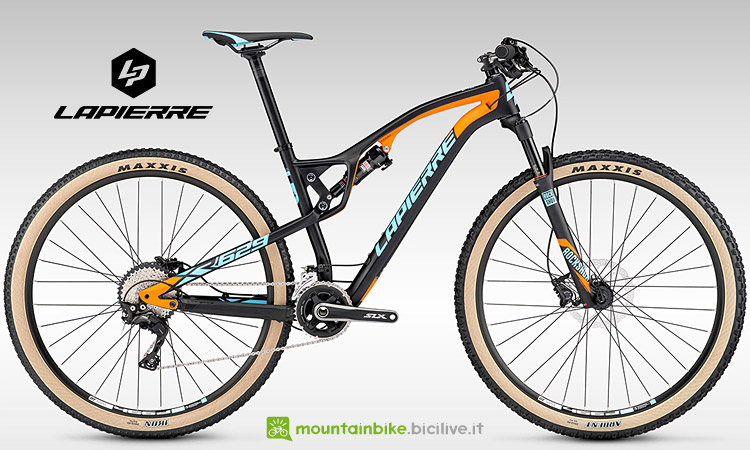 Mtb da cross country Lapierre XR 629
