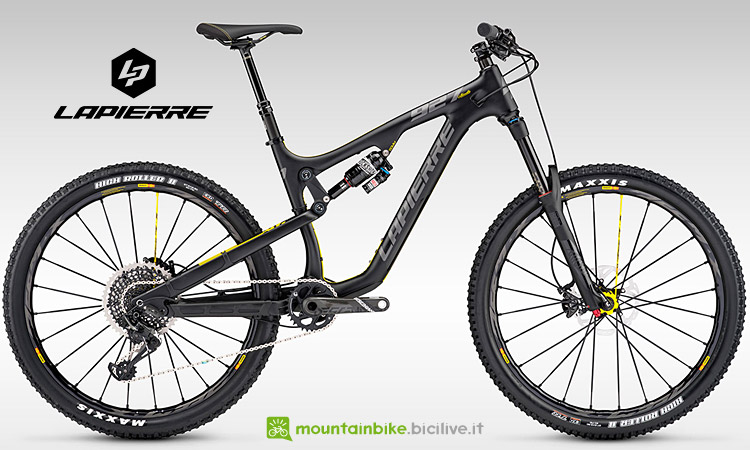 Mtb all-mountain Lapierre Zesty AM 927 Ultimate dal catalogo 2017