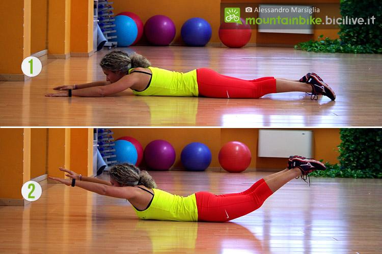 Parte bassa della schiena: si rafforza con 6 esercizi
