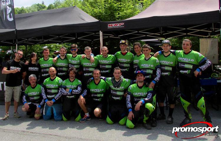atleti del Promo Sport Racing.