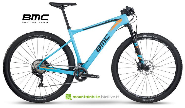 Mtb da XC BMC teamelite 02 dal listino 2017