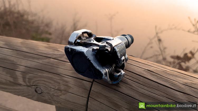 foto di un pedale spd da xc