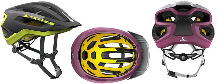 casco da mtb scott fuga plus con tecnologia MIPS