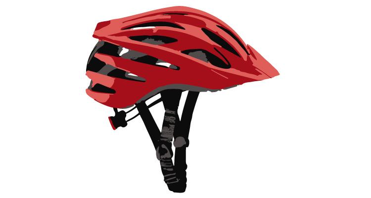 casco da xc con visiera e buona aerazione
