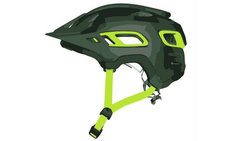 casco da mountain bike della giusta taglia