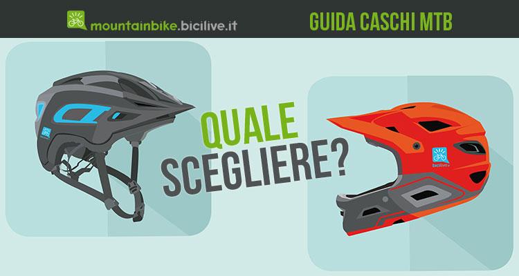 guida scelta caschi mountain bike