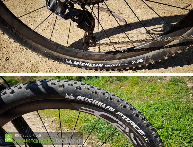foto del pneumatico cross country Michelin Force XC